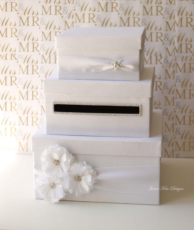 Unique Wedding Card Box Holder Money Gift Choose Your: Unique Wedding Card Containers At Websimilar.org