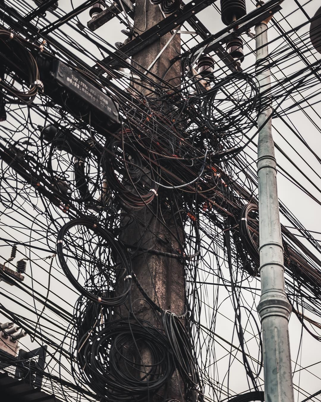 hight resolution of electrical spaghetti messy electrical wiring at phuket patongbeach banglaroad electrical spaghetti thailandvisit travelawesome goexplore