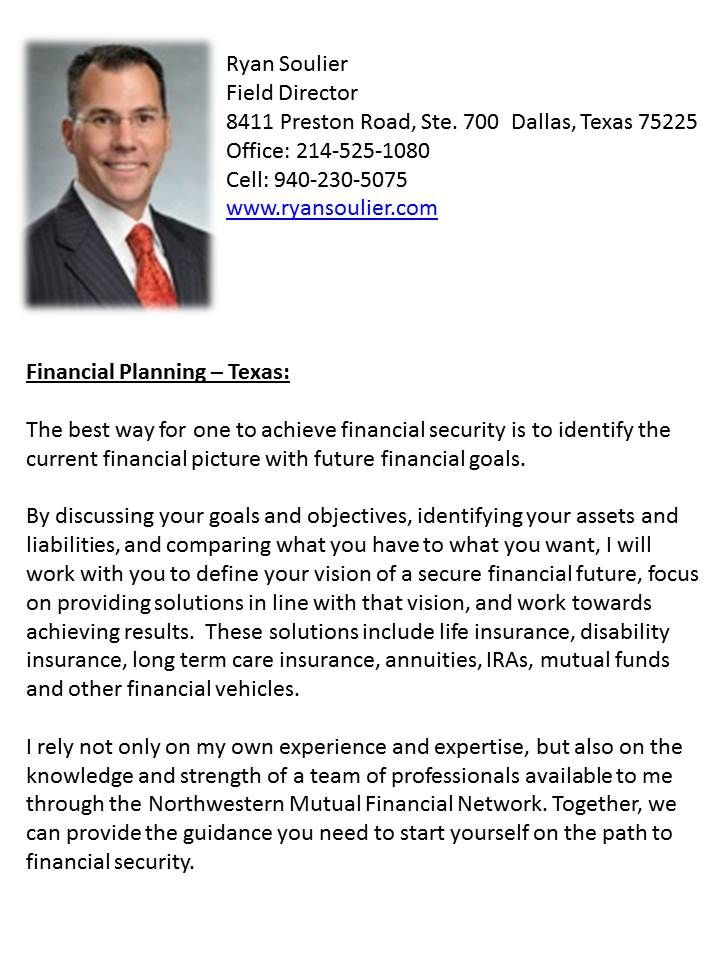Texas Financial Planning: Get sound financial advise by