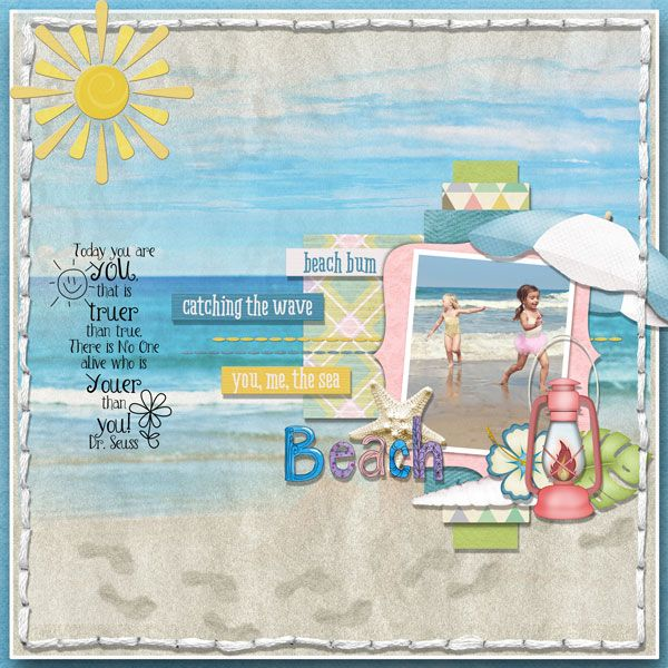 page by Autsia kit: Beach blanket bingo