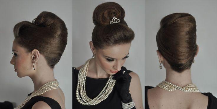 Audrey Hepburn Updo Tutorial Audrey Hepburn Hair Audrey