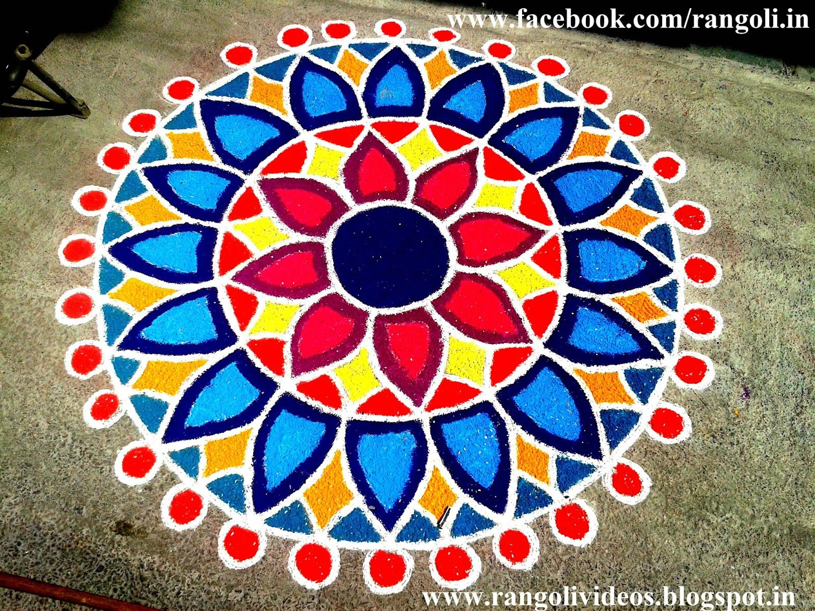 Diwali Rangoli 2013 (With images) Rangoli designs diwali