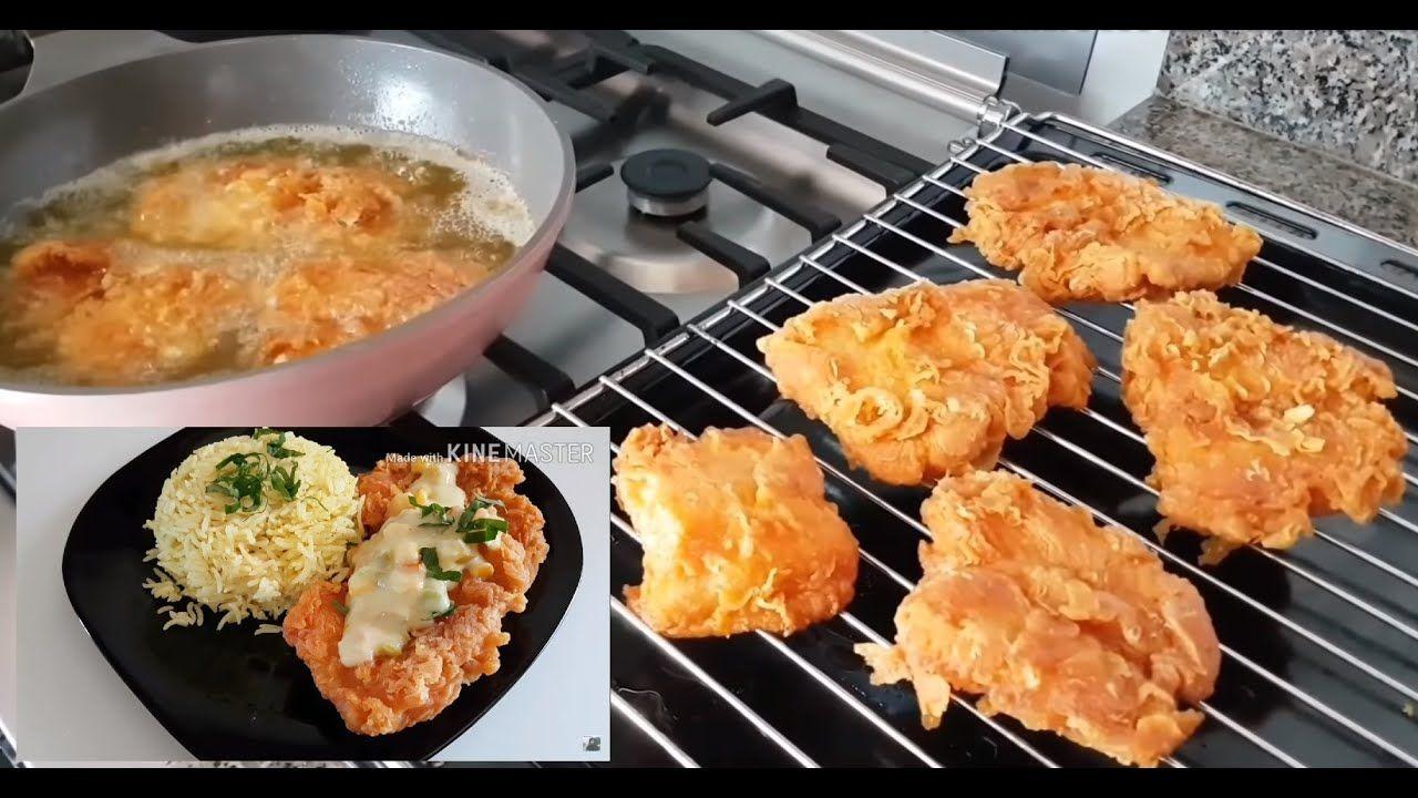 بنفس طريقة المطاعم سمك فيليه مع رز أبيض وصلصة خاصة بها Youtube Recipes Cake Recipes Food