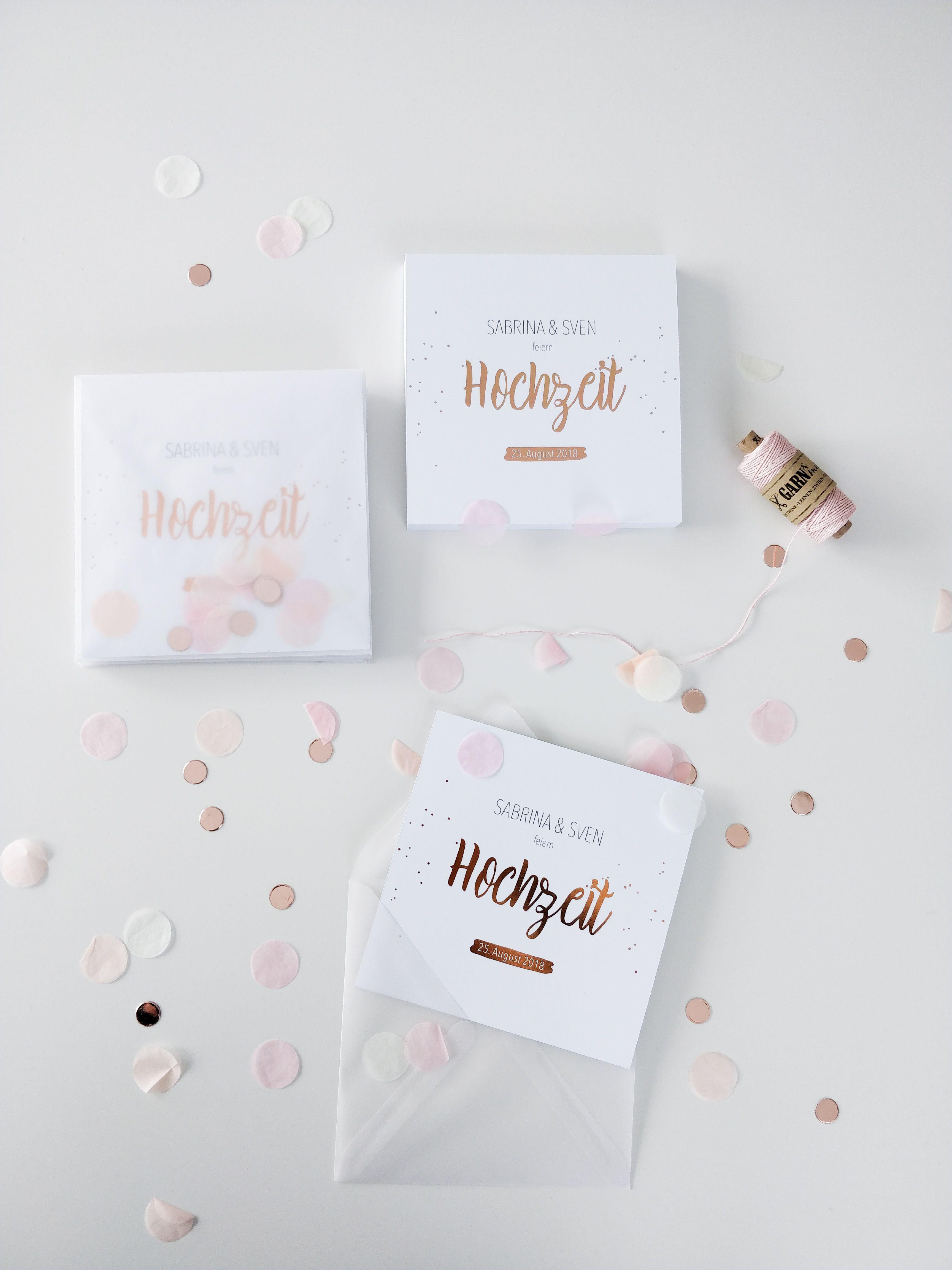 Hochzeitseinladungen In Rose Gold Heissfolienpragung Einladung Rose Quadratisch Minimalistisch Edel Gold M Hochzeitseinladung Karte Hochzeit Einladungen
