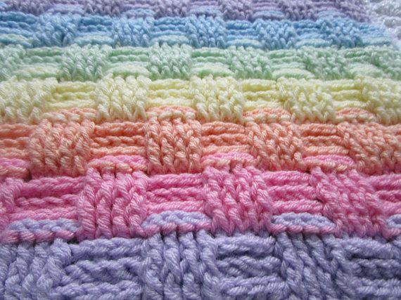 Basketweave Crochet Afghan Pattern Easy Crochet Blanket Pattern
