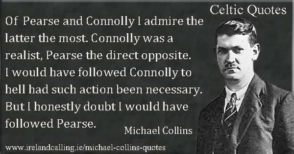 Michael Collins Quotes Michael Collins Irish History Irish Independence