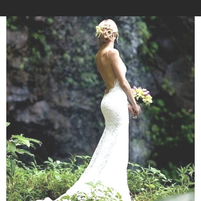The 25 Best Backless Wedding Gowns Ideas On Pinterest