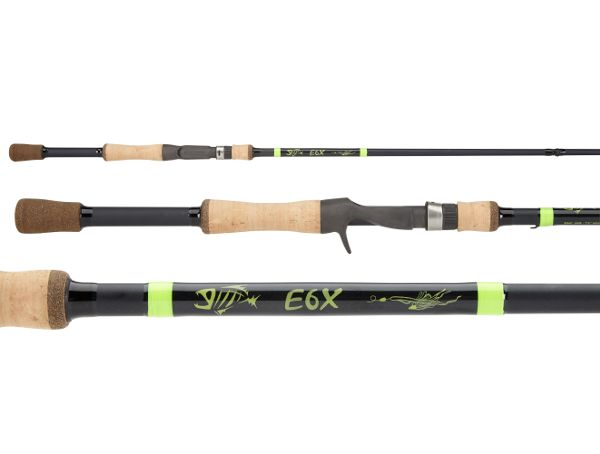 G Loomis E6x Bass Jig Worm Spinning Rods Spinning Rods Fishing Tackle Fish