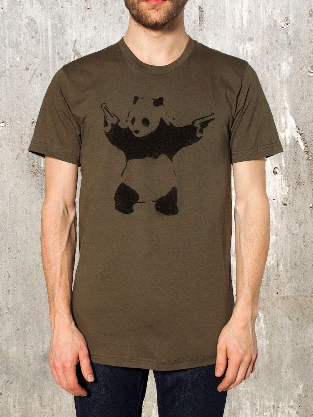 Panda Bear Street Art | Effect | Pinterest | Franela, Camisetas y ...