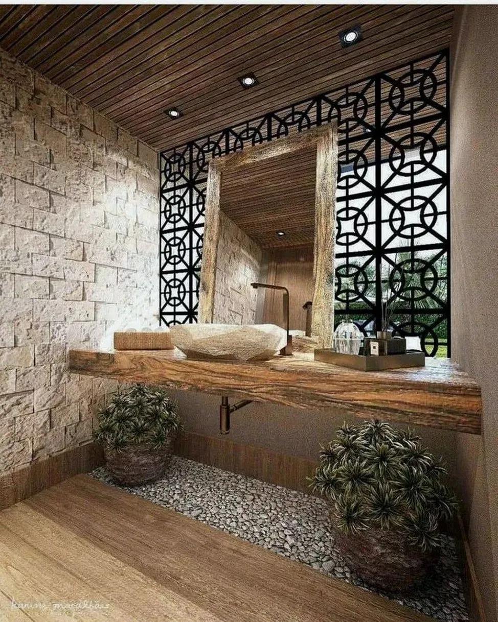 20 ziemlich einzigartige moderne Badezimmerdekorationsideen 8 #bathroomdesign #bathroomde …