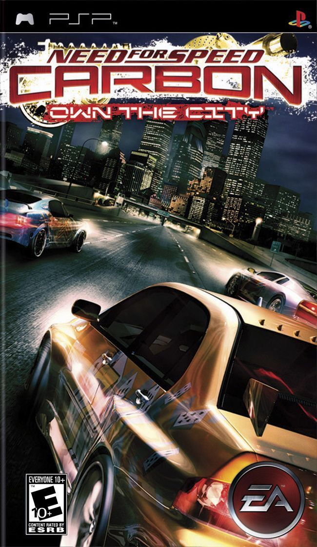Need For Speed Carbon Own The City Sony Psp 2006 Need For