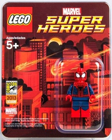 SDCC 2013 LEGO Exclusive Superheroes Minifigures Raffle Rigged ...