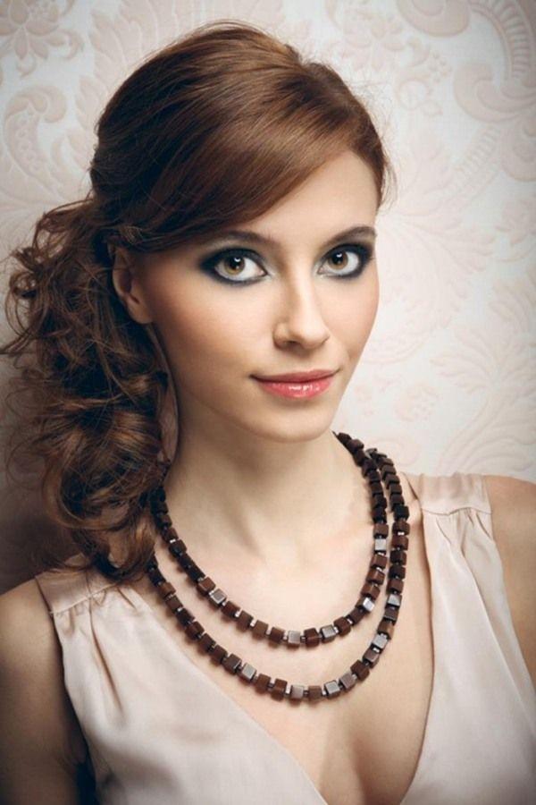Ideen Für Abiball Frisuren Lange Haare Glamouröser Auftritt