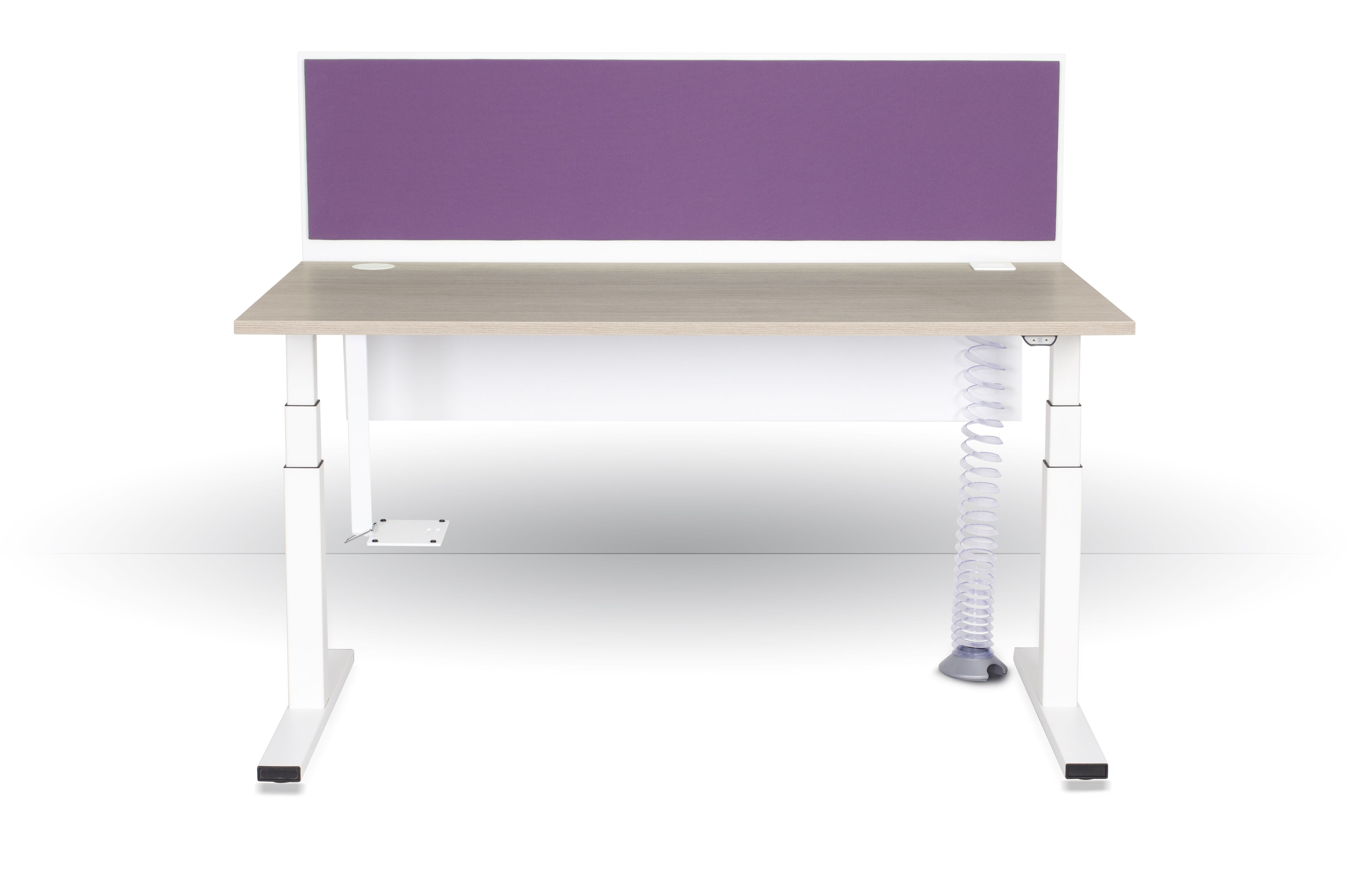 Ergonomie parfaite avec ce bureau e model réglable en hauteur