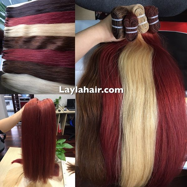 Straight Weft Vietnam Hair Color 30 24 We Provide Most Type Of
