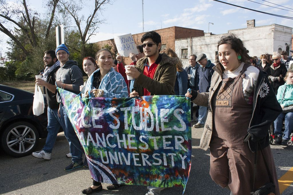 Manchester University Peace Studies At The School Of The Americas Protest Schools In America Peace Studies Liberal Arts College