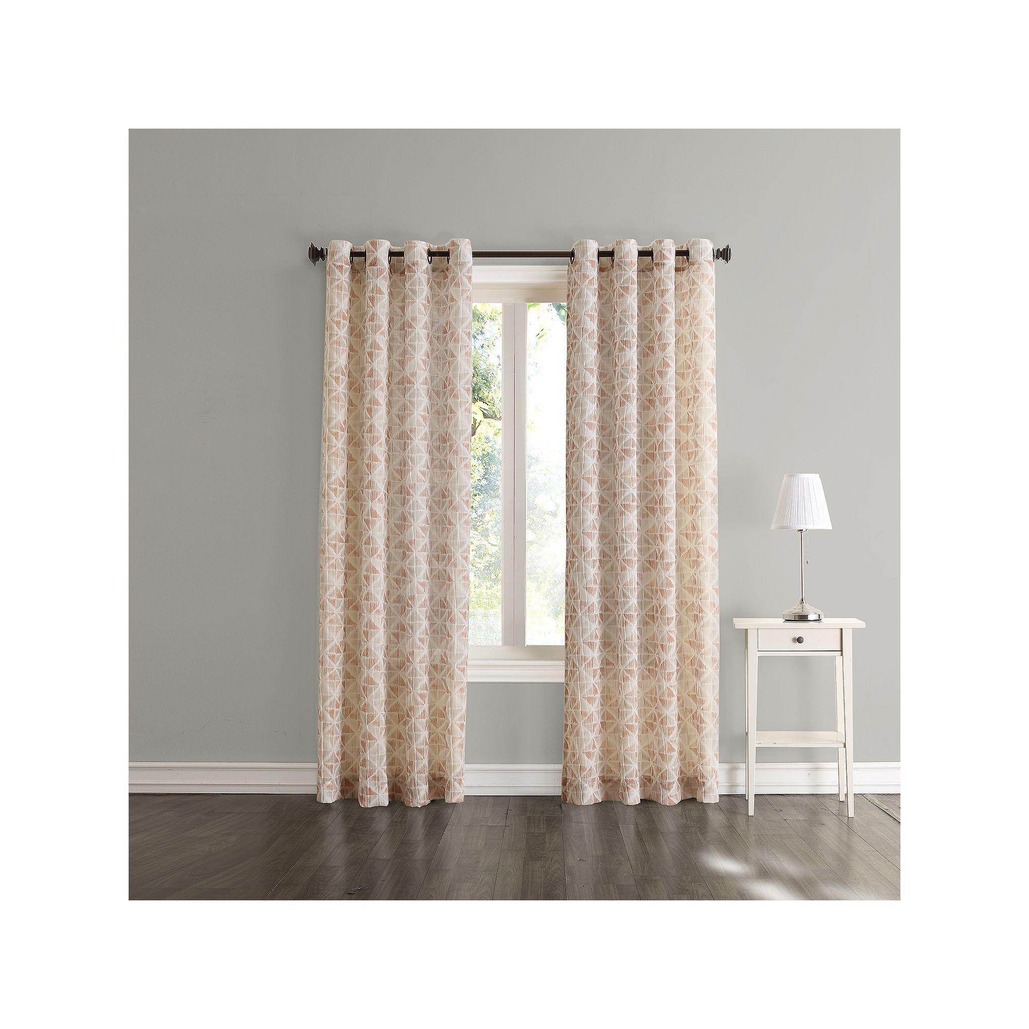 Sonoma Goods For Life Jaden Window Curtain Curtains Curtains