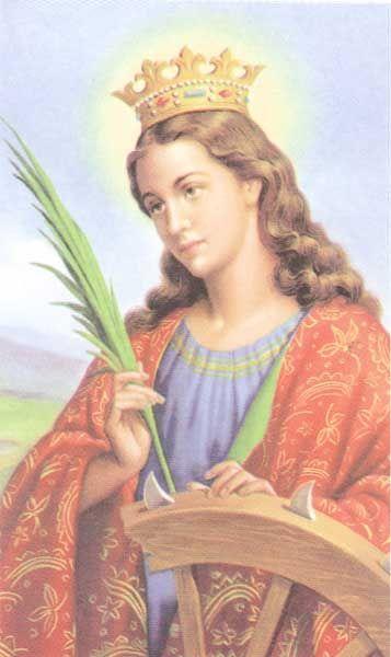 Minha Beata Santa Catarina Vos Que Sois Bela Como O Sol Formosa