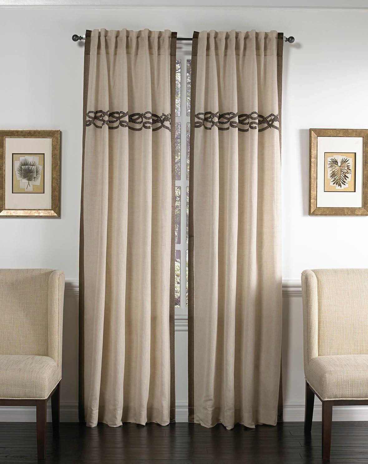 Cloud9 Design Celle Drapery Panel Drapery Panels Linen Curtains
