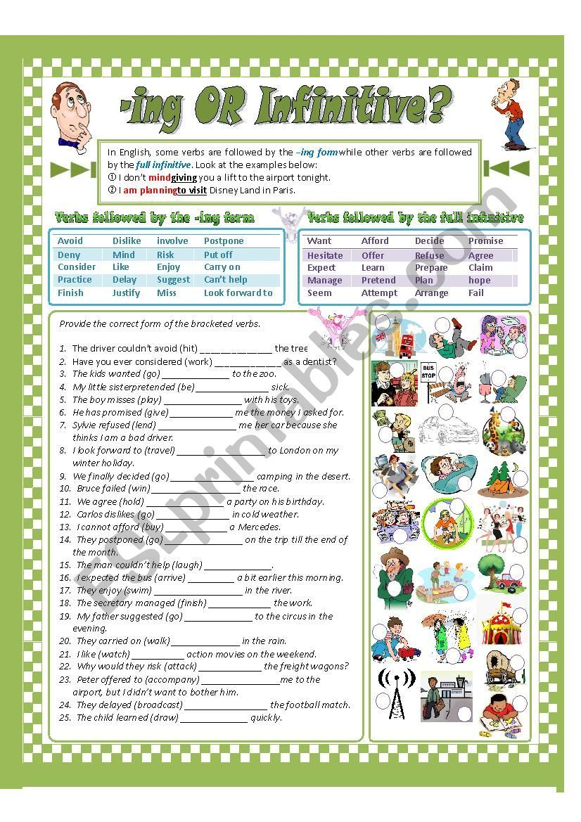 Present Participle Of Full Infinitive Grammar Worksheets English Grammar Worksheets Worksheets [ 1169 x 826 Pixel ]