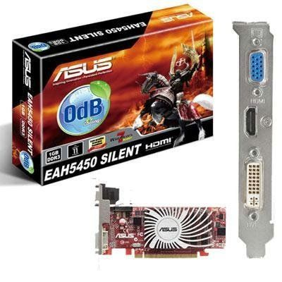 New ASUS AMD ATI Radeon HD 5450 SILENT 512MB HDMI VGA DVI PCIE Video Card
