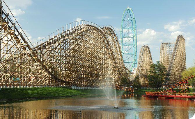 Six Flags Fiesta Texas San Antonio Hotels Near Disneyland Roller Coaster Amusement Park