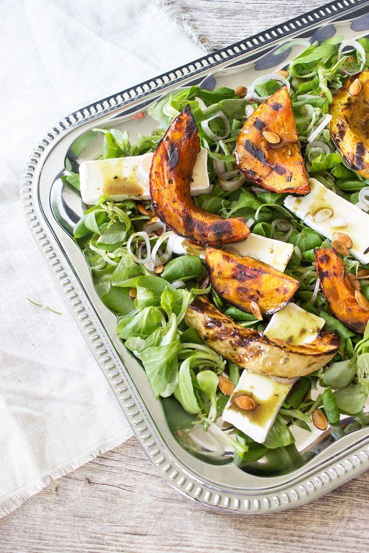 Sommer salate zu gegrilltem