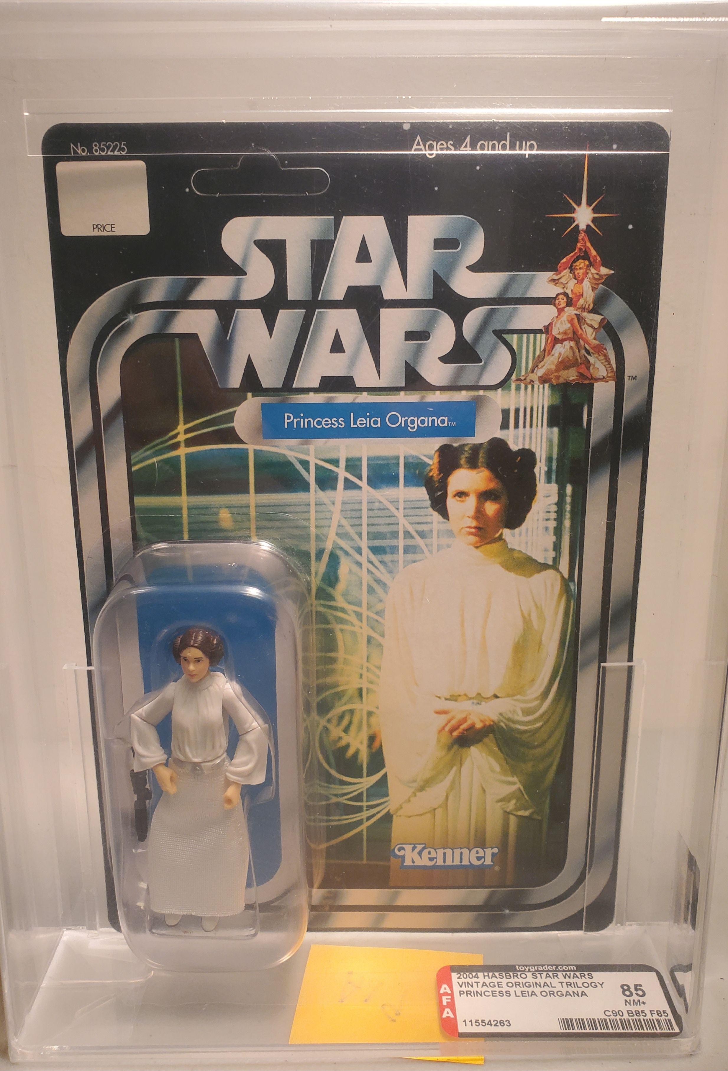 2004 Star Wars Original Trilogy Collection Princess Leia 85nm Afa Gr Valleygoto In 2020 Princess Leia Original Trilogy Leia