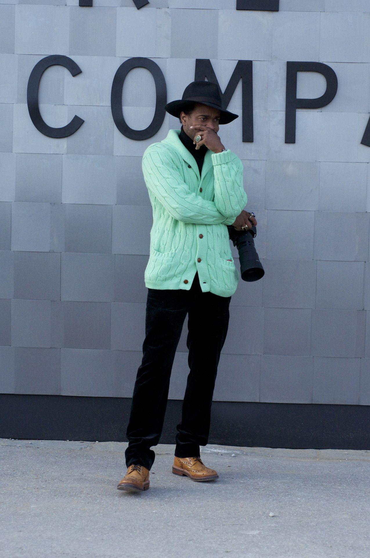beforeeesunrise:  He is also a photographer. Nice Pitti Uomo 852014 Florence,Italy