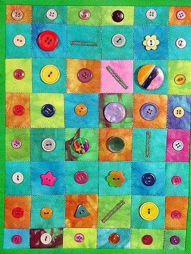 button quilt