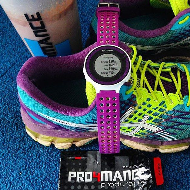 Colourful start to brighten up #humpday   #Pro4mance #sportsnutrition #prolete @izzyclaxton #run #goodmorning #energygel #recovery #colourful