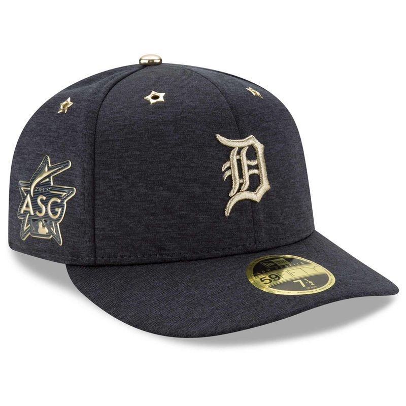 pretty nice 9ba2b b0cb6 ... triple black 59fifty cap 92100 4b190  free shipping detroit tigers new  era 2017 mlb all star game side patch low profile 59fifty