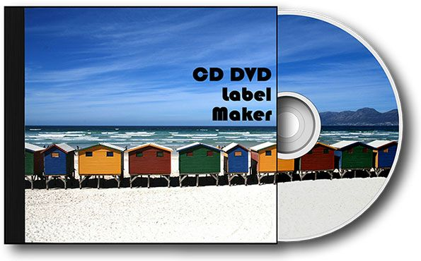 Make your own CD cover design using RonyaSoft CD label software - cd label