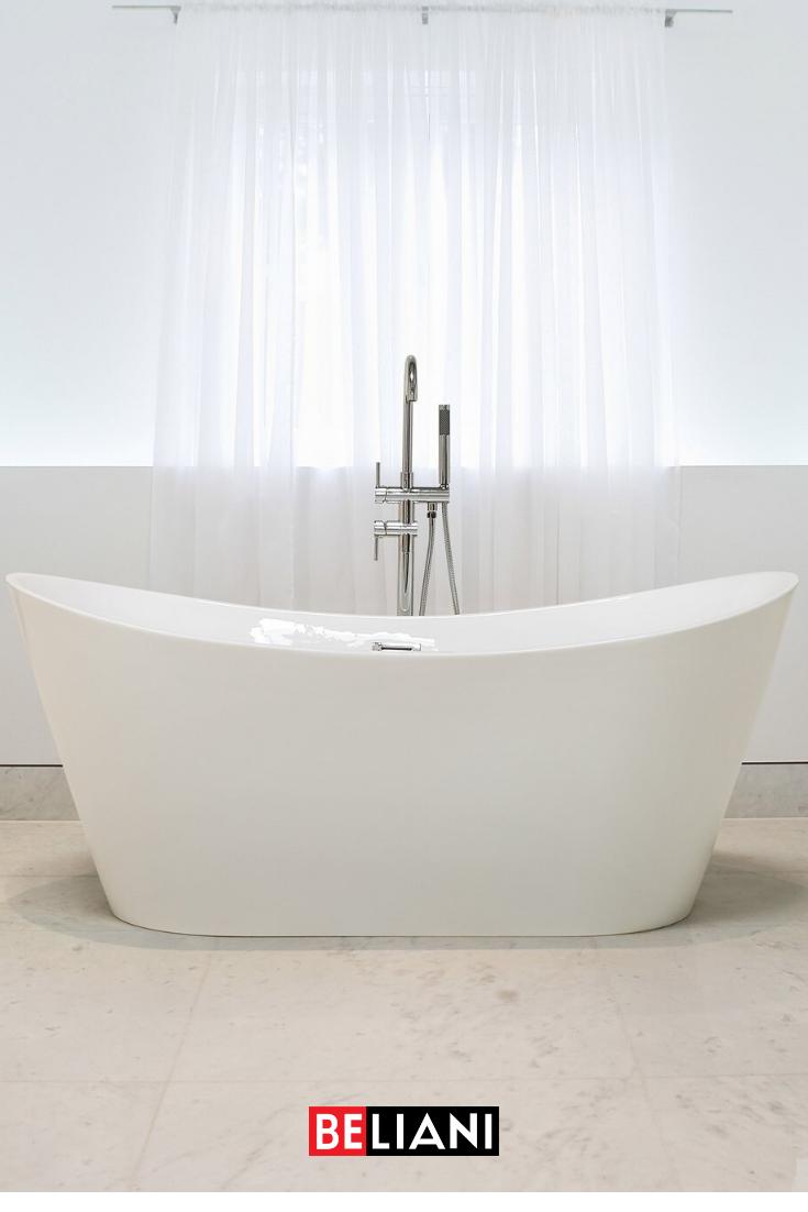 Badewanne Halb Freistehend Neu Best Freistehende Badewannen In 2020 Badewanne Kleine Badezimmer Design Badezimmer Umbau