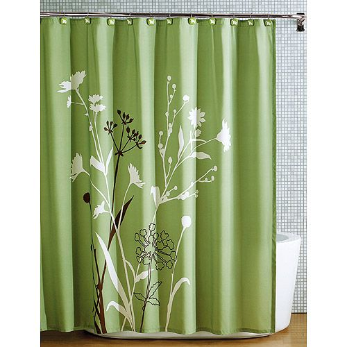 I Am Redecorating The Guest Bathroom What Do You Think Green Shower CurtainsBathroom