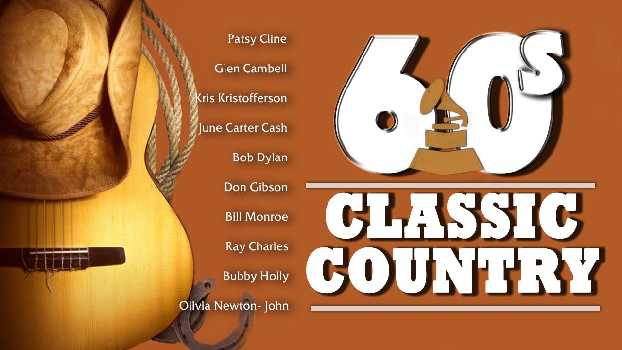 Best Classic Country Songs of 1960s - Greatest Old Country