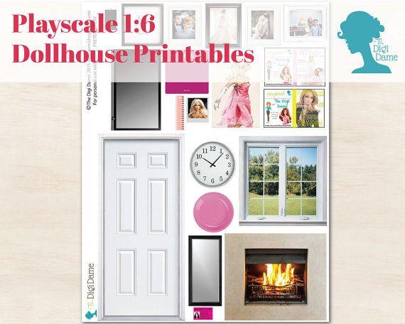 DIY decorating a Barbie doll house? Playscale dollhouse decor