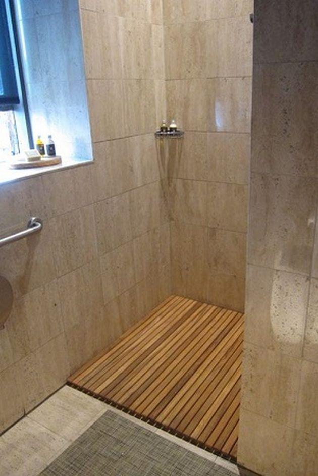 50+ Teak Bathroom Ideas_16 Bathroom Ideas Pinterest Teak and Woods