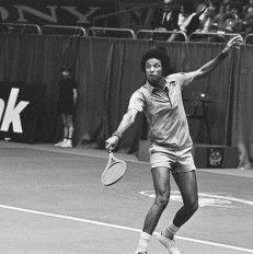 Arthur Ashe 1943 - 1993 American World No. 1 professional tennis player.