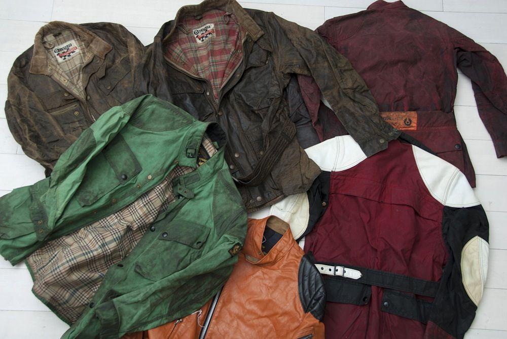 NORTH SEA STUDIO VISIT PART 2 – VINTAGE BARBOUR, BELSTAFF & WORKWEAR COLLECTION
