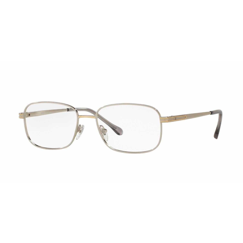 Sferoflex Mens SF2274 131 Metal Square Eyeglasses by Sferoflex ...