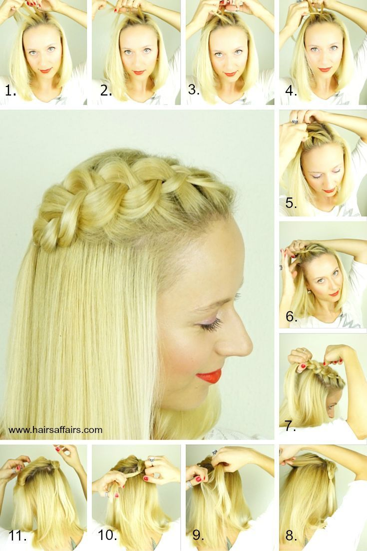 5 easy lazy day hairstyles | braids in 2019 | lazy day
