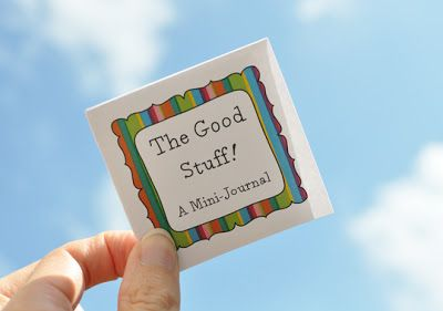 The Good Stuff! A Mini-Journal by Christie Zimmer
