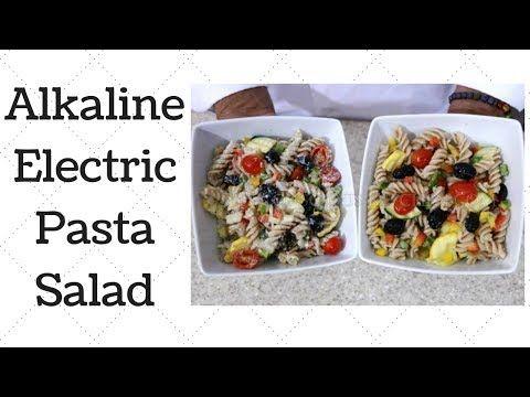 Alkaline Electric Pasta Salad Ty S Conscious Kitchen Dr Sebi