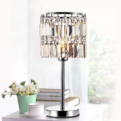 Luxurious High Quality K9 Crystal Table Lamp Bedside Lamps Crystal