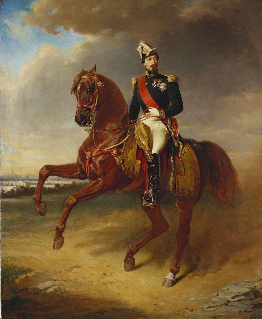 Edouard Boutibonne (1816-97) - Napoléon III (1808-73