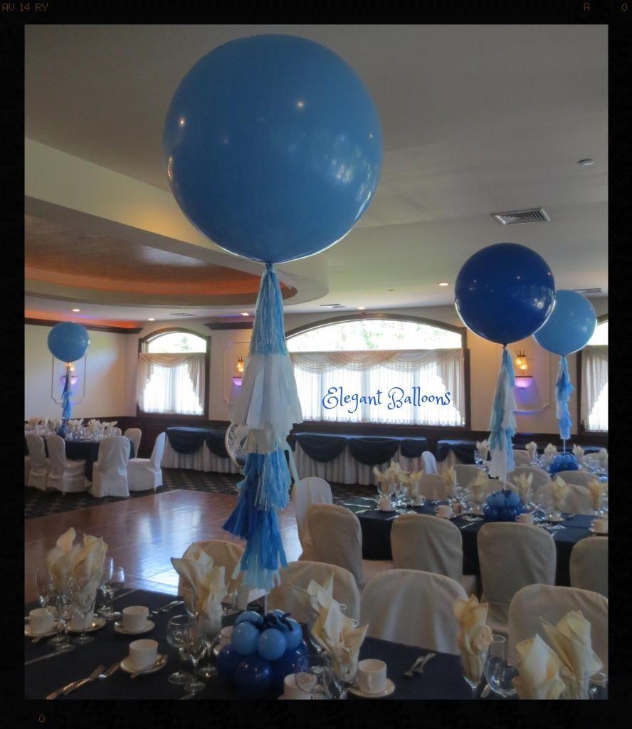Elegant balloons foot balloon with tassels