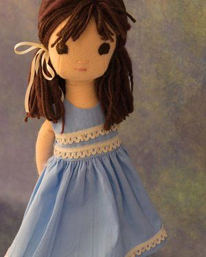 "Lisa Press | Handmade Dolls on Instagram: ""It's been one of those weeks where I have not had time to sew. So I thought I'd post this custom from a few weeks ago."