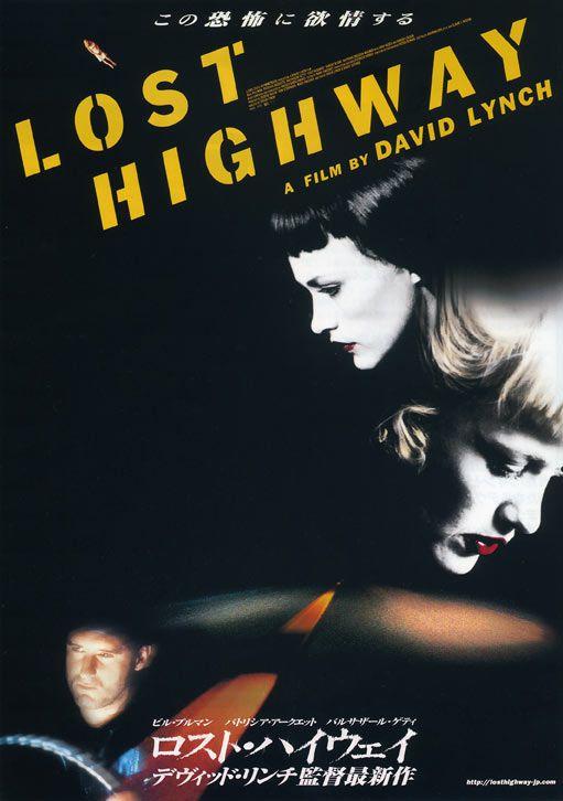 Lost Highway  Film Noir Movie Posters Classic Cinema