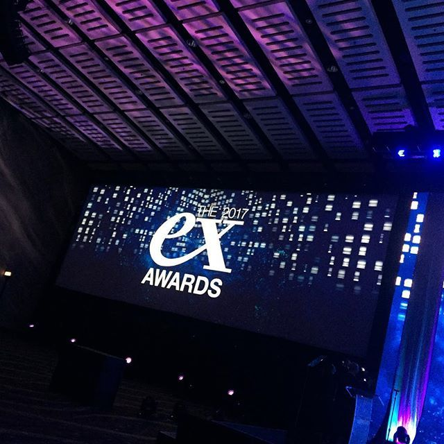 Just getting started!! Ex Awards #emslive #productionlife #eventprofs #liveevents #evedeso #eventdesignsource - posted by keirnyc https://www.instagram.com/keirnyc. See more Event Designs at http://Evedeso.com